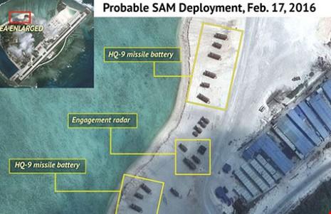 EU quan ngại về việc triển khai tên lửa trên biển Đông - ảnh 1