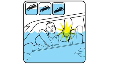 Kinh nghiệm thoát hiểm khi xe rơi xuống nước - ảnh 2