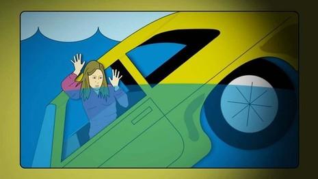 Kinh nghiệm thoát hiểm khi xe rơi xuống nước - ảnh 4