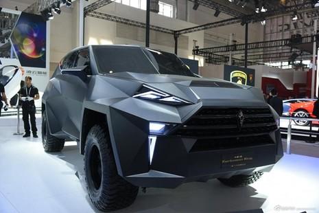 Siêu xe 'lập dị' IAT Kalman của Trung Quốc có giá bán lè lưỡi - ảnh 5