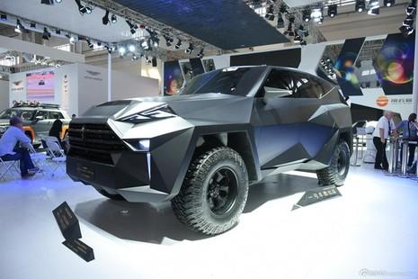 Siêu xe 'lập dị' IAT Kalman của Trung Quốc có giá bán lè lưỡi - ảnh 1