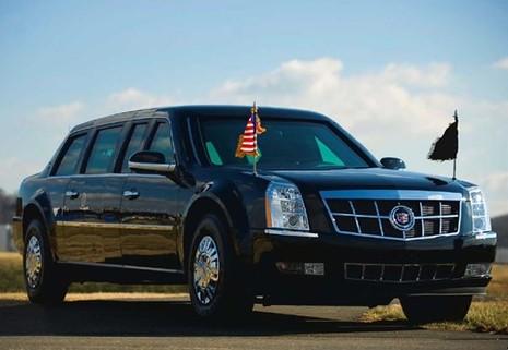 Dàn phương tiện hoành tráng luôn theo sát tổng thống Mỹ - ảnh 2