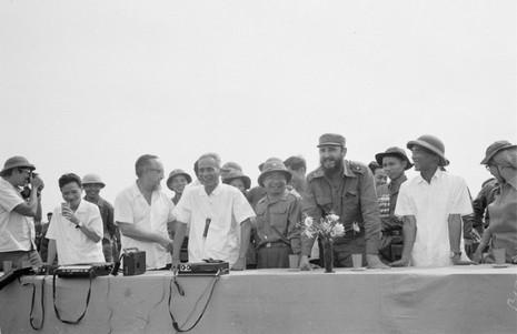 Chuyến thăm Quảng Trị của Chủ tịch Fidel Castro  - ảnh 2