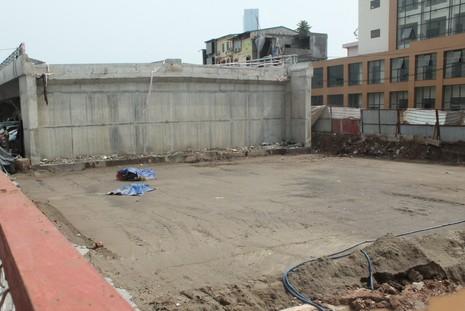 Một người chết, tạm dừng thi công dự án nút giao thông Cầu Giấy - ảnh 1