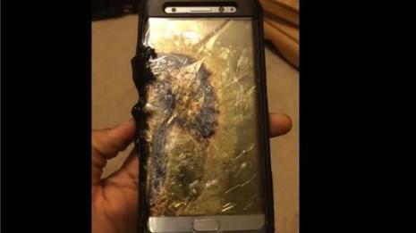 Nhiều điện thoại Samsung Galaxy Note 7  gặp sự cố khiến ngành hàng không lo lắng. Ảnh: Internet