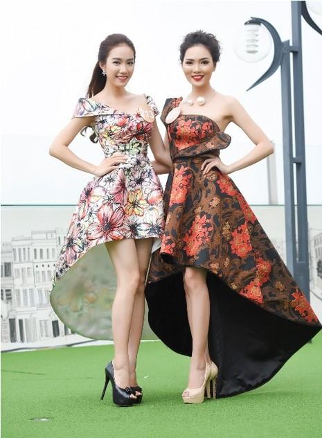 Thí sinh Hoa hậu bản sắc Việt đẹp nền nã trong trang phục áo dài - ảnh 8