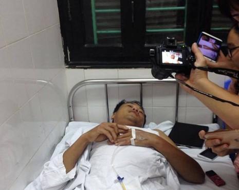 Bệnh nhân bị mổ nhầm chân