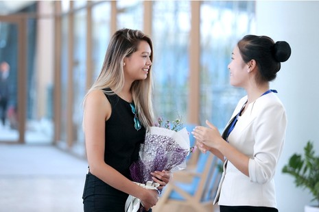 Dàn người đẹp 'ngoại' cuộc thi Hoa hậu Bản sắc Việt đổ bộ về nước   - ảnh 1