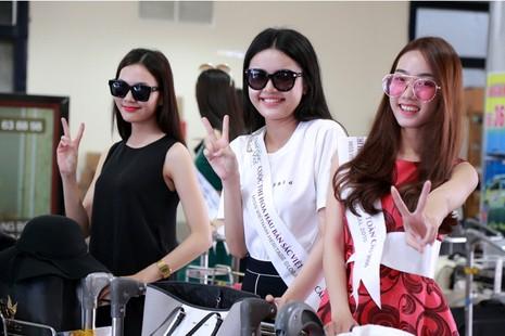 Dàn người đẹp 'ngoại' cuộc thi Hoa hậu Bản sắc Việt đổ bộ về nước   - ảnh 4