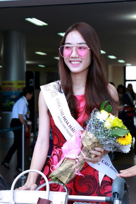 Dàn người đẹp 'ngoại' cuộc thi Hoa hậu Bản sắc Việt đổ bộ về nước   - ảnh 7