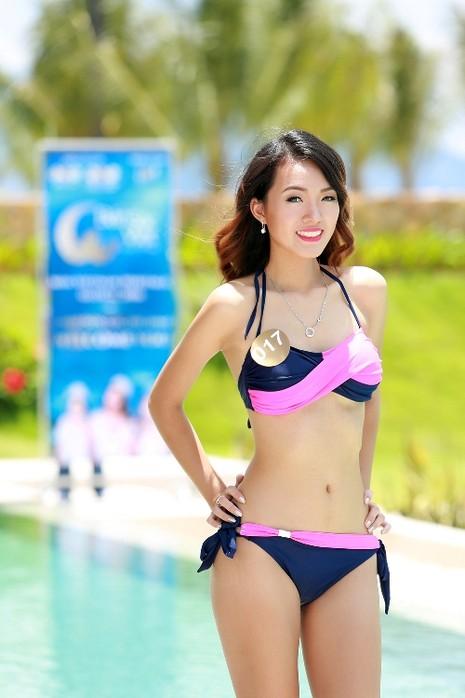 Người đẹp gốc Việt khoe đường cong tại 'Hoa hậu Bản sắc Việt' - ảnh 2