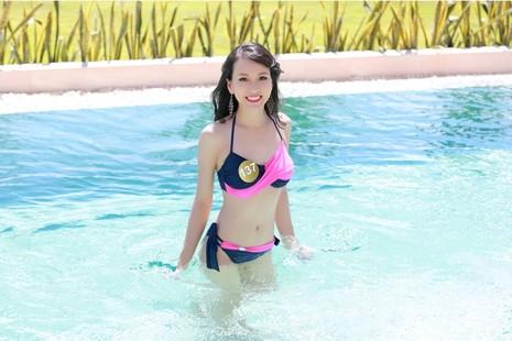 Người đẹp gốc Việt khoe đường cong tại 'Hoa hậu Bản sắc Việt' - ảnh 5