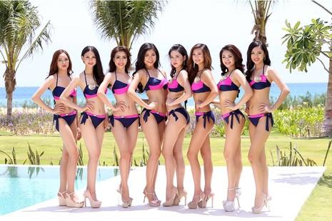Người đẹp gốc Việt khoe đường cong tại 'Hoa hậu Bản sắc Việt' - ảnh 8