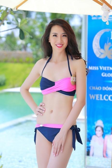 Người đẹp gốc Việt khoe đường cong tại 'Hoa hậu Bản sắc Việt' - ảnh 1