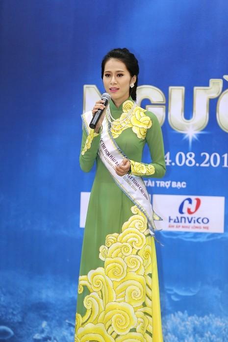 Người đẹp Hoa hậu bản sắc Việt gửi thông điệp bảo vệ môi trường biển - ảnh 1
