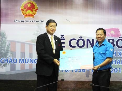 Nhật Bản hỗ trợ Việt Nam xây trường lắp ghép ở miền núi - ảnh 1