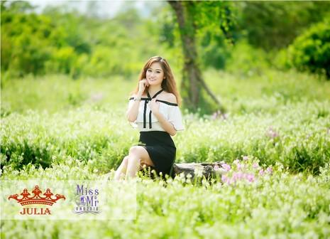 Hoa hậu Mỹ Linh,nghệ sĩ Xuân Bắc chấm thi SV thanh lịch - ảnh 5