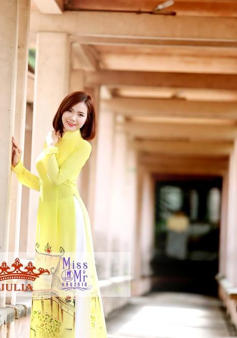 Hoa hậu Mỹ Linh,nghệ sĩ Xuân Bắc chấm thi SV thanh lịch - ảnh 6
