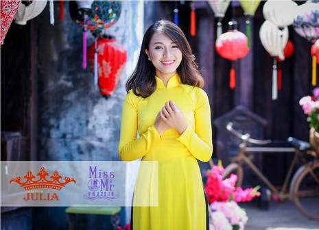 Hoa hậu Mỹ Linh,nghệ sĩ Xuân Bắc chấm thi SV thanh lịch - ảnh 3