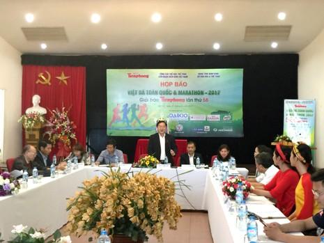 Hoa hậu Ngọc Hân tham gia Giải Việt dã và marathon  - ảnh 1