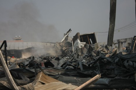 Cháy nổ dữ dội tại công ty hóa chất  - ảnh 3