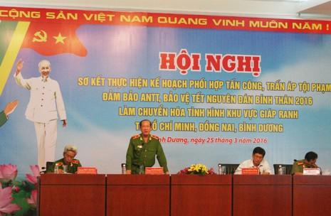 Thiếu tướng Nguyễn Phi Hùng: 'Tội phạm đang diễn biến hết sức nguy hiểm' - ảnh 1