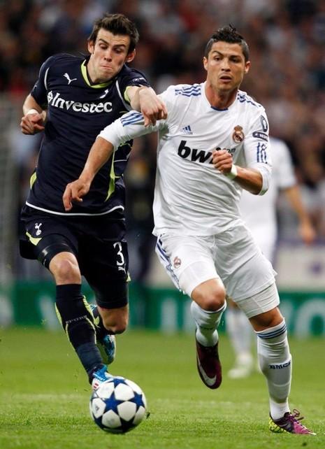 Cristiano Ronaldo và Gareth Bale đụng độ nhau ở đấu trường Champions League