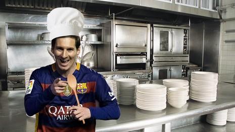 Messi mở làng ẩm thực dạy nấu ăn - ảnh 3
