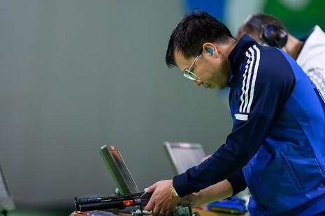 Ảnh: Khoảnh khắc vàng của Hoàng Xuân Vinh tại Olympic Rio  - ảnh 1