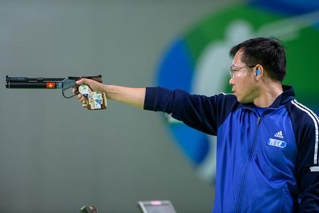 Ảnh: Khoảnh khắc vàng của Hoàng Xuân Vinh tại Olympic Rio  - ảnh 2