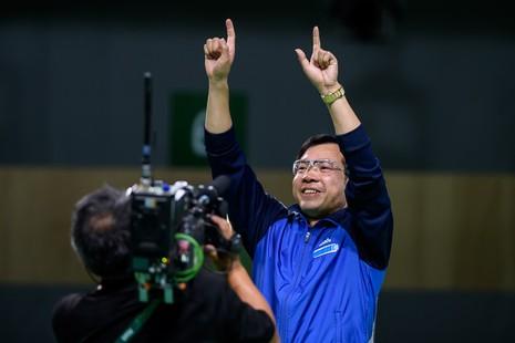 Ảnh: Khoảnh khắc vàng của Hoàng Xuân Vinh tại Olympic Rio  - ảnh 6