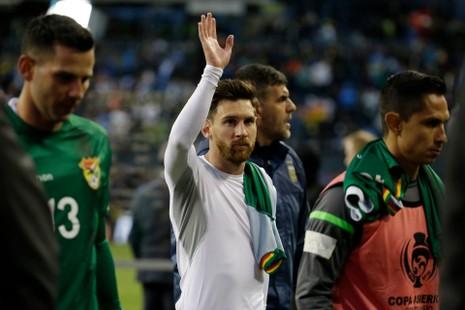 Messi trở lại đội tuyển Argentina - ảnh 1