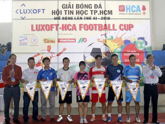 Các đội tham gia giải bóng đá HCA