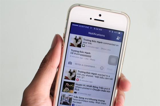 Facebook cho phép trả lời nhanh tin nhắn từ phần thông báo