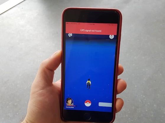 Tựa game Pokémon Go bị lỗi GPS