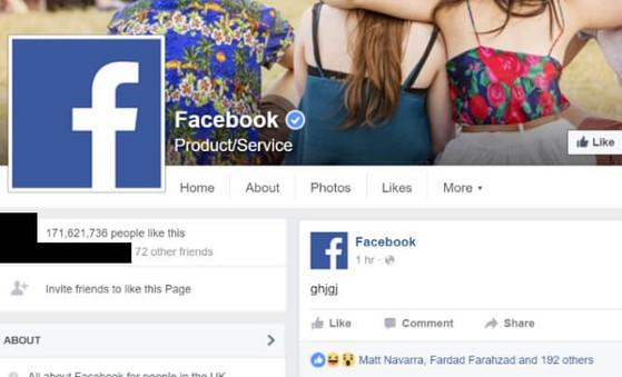 Facebook bị hack hay nhân viên say rượu