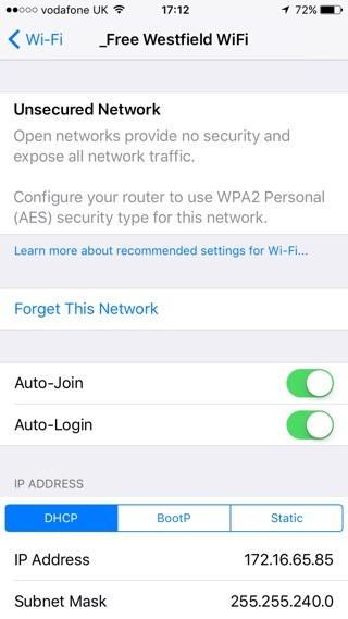Cảnh báo Wi-Fi không an toàn