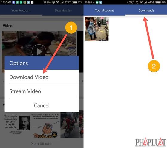 save fb videos
