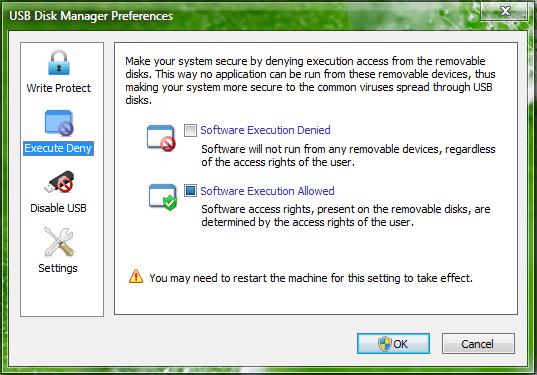 usb disk manager