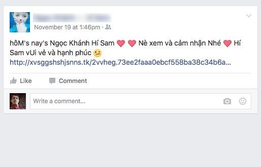 lừa đảo facebook