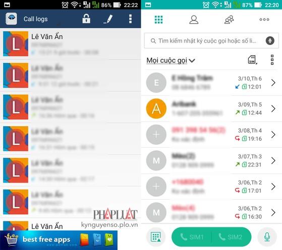 Cách ẩn cuộc gọi và tin nhắn quan trọng trên Android