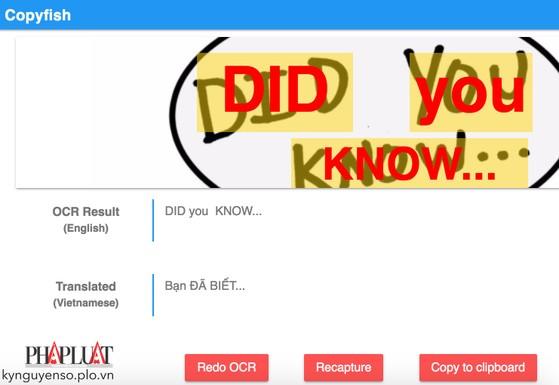5 công cụ giúp biến chữ trên hình ảnh thành văn bản