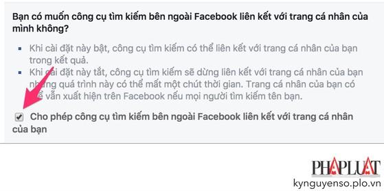 Mẹo để người khác không tìm thấy bạn trên Facebook