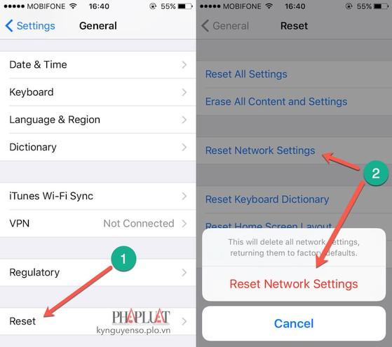 5 cách sửa lỗi iPhone, iPad không thể kết nối Wi-Fi