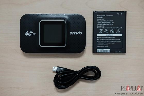 Đánh giá nhanh cục phát 4G Tenda tốc độ cao, giá rẻ