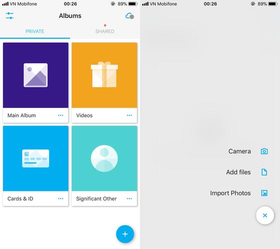 Ẩn video, hình ảnh, các thông tin cá nhân và chữ kí số dễ dàng với Keepsafe.