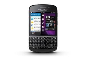 Điện thoại Blackberry với bàn phím Qwerty. (Nguồn: blackberry.com)