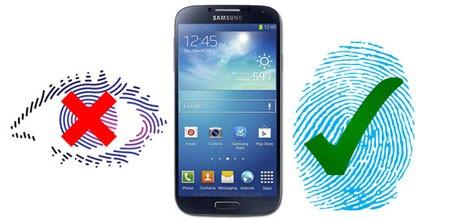 Galaxy S5 sẽ có tính năng đọc dấu vân tay trên màn hình