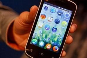 Một mẫu smartphone của Mozilla. (Nguồn: CNET)