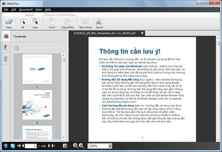 Phần mềm chuyên nghiệp giúp xem và trích xuất nội dung từ file PDF